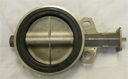 "Bray Butterfly Valve, 4"", Stainless Steel"